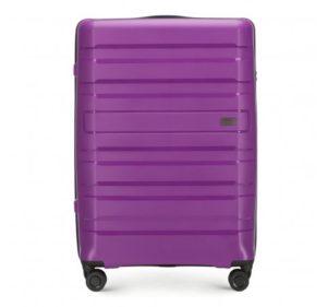 jak zabezpieczyć walizkę przed lotem: duża walizka z kolekcji PP Matte Stripes