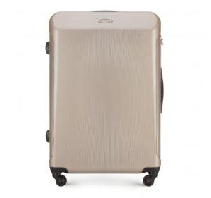 jak zabezpieczyć walizkę przed lotem: duża walizka z kolekcji Stroll Line