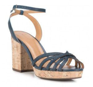 letnie sandały damskie na koturnie