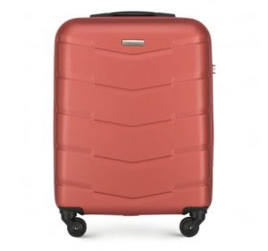 pomarańczowa walizka z ABS-u