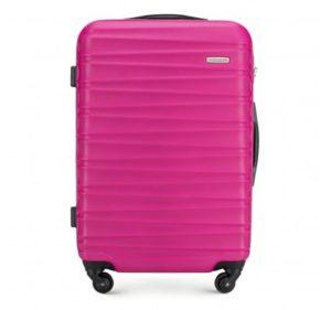 różowa walizka z kolekcji Groove Line
