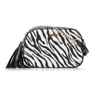 zebra: torebka w zebrę z kolekcji Young