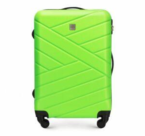 zielona walizka z kolekcji Groove Line III
