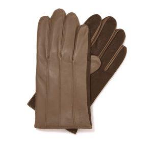 beżowe rękawiczki męskie