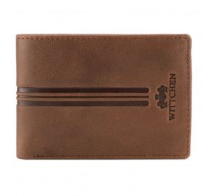 brązowy portfel z kolekcji Franco