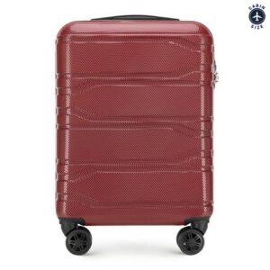 kiermasz WITTCHEN: czerwona walizka kabinowa z kolekcji Trail Style