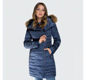 pikowana kurtka damska z kapturem