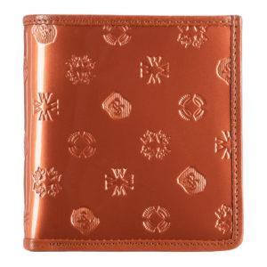 portfel ze skóry lakierowanej