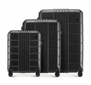 kiermasz WITTCHEN: set walizek w czerni z kolekcji Trail Style 2