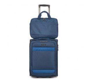 walizka kabinowa z torbą na laptopa