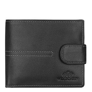 zapinany portfel z kolekcji City Leather