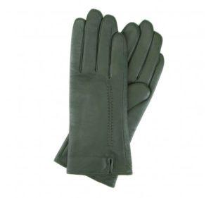zielone rękawiczki damskie