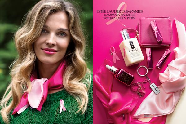 Wspieramy Estée Lauder Companies – dołącz do Kampanii na rzecz Walki z Rakiem Piersi