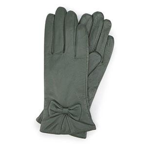 ocieplane rękawiczki w kolorze khaki