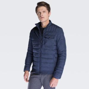 pikowana kurtka przejściowa z włókna syntetycznego