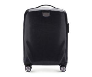 czarna walizka w promocji Black Friday