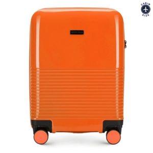 pomarańczowa walizka z kolekcji Sky na city break