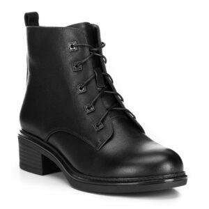 sznurowane buty damskie