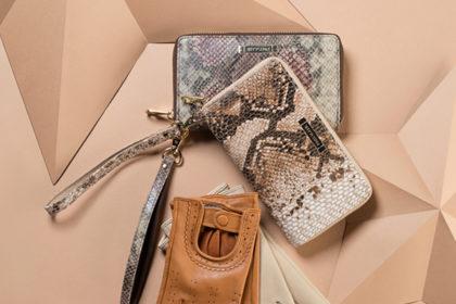 Portfele i torebki z motywem węża – świąteczne inspiracje od WITTCHEN