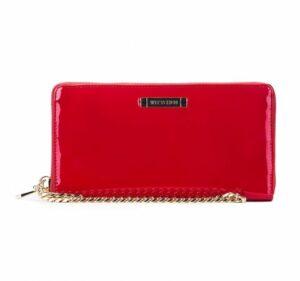 czerwony portfel z kolekcji Modern