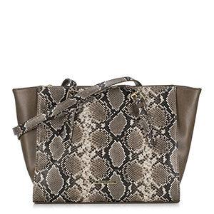 torebka shopper z motywem węża