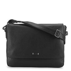 torba na laptopa osłonięta klapą