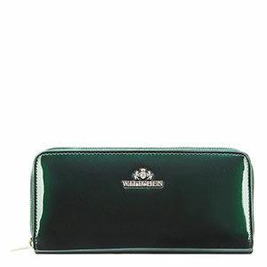 zielony portfel z kolekcji Verona