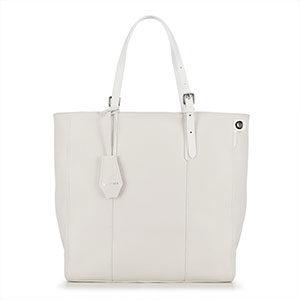 biała torebka typu shopper bag