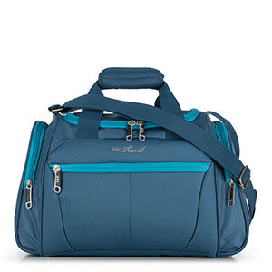 niebieska torba podróżna z kolekcji VIP Collection