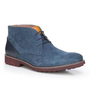 niebieskie buty 87-M-820-7-41