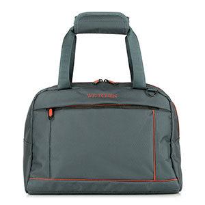 szaro-pomarańczowa torba podróżna z kolekcji Bon Voyage I