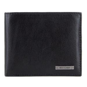 męskie dodatki ze skóry: męski portfel z kolekcji Modern