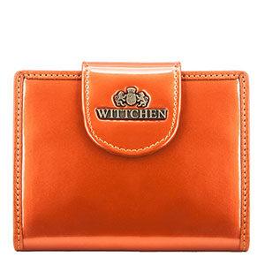 pomarańczowy portfel z kolekcji Verona