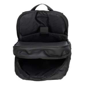 czarny plecak męski z nylonu 89-3P-115-1