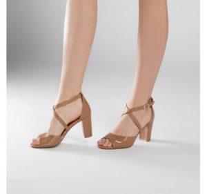 damskie sandałki za skóry