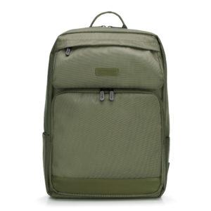 khaki bagaż męski z nylonu 89-3P-103-O