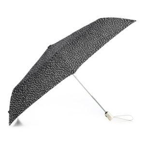 parasol składany czarno-biały