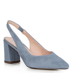 zamszowe sandały damskie