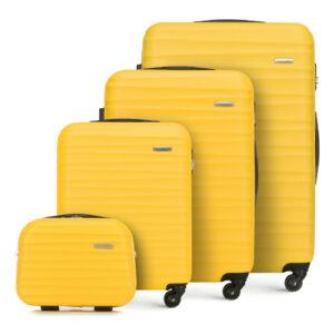Rodzinny zestaw walizek z ABS-u