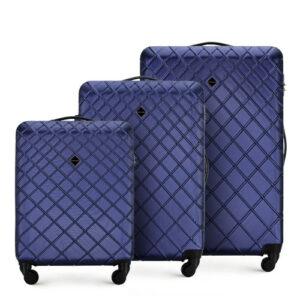 Stylowe walizki z ABS-u