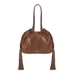 brązowa torebka z frędzlami z kolekcji Young