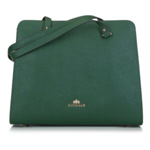 klasyczna zielona torebka z kolekcji Elegance