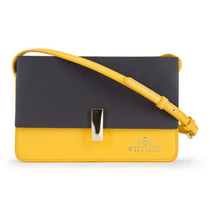 szaro-żółta listonoszka z kolekcji Elegance