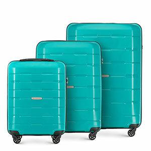 turkusowy zestaw walizek z kolekcji Speedster