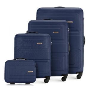 Zestaw walizek na podróż samochodem