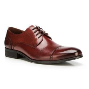 Skórzane buty typu derby