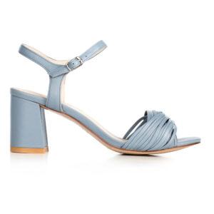 Niebieskie sandały wizytowe