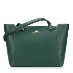 Zielona torebka damska z kolekcji Elegance