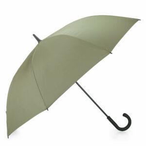 Zielony parasol męski