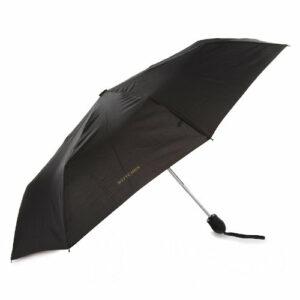 Czarny parasol automatyczny